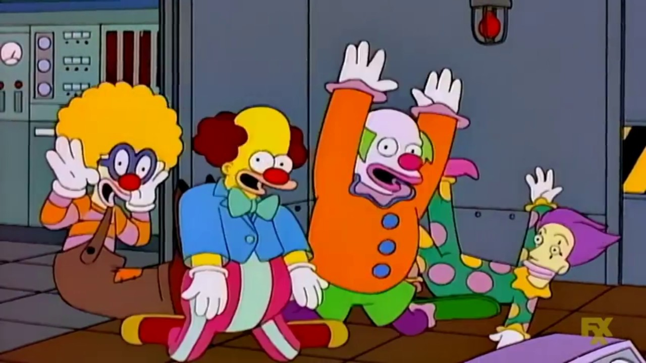 Homer Simpson - Clowns Are Funny - YouTube