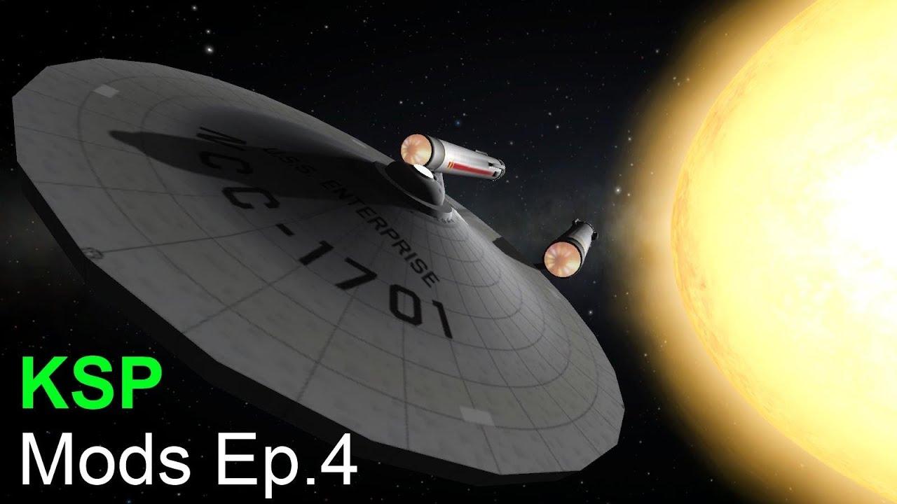 KSP - Mods Ep.4 - USS Enterprise mod - YouTube