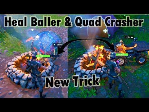 Heal Baller & Quad Crasher Using CampFire - Fortnite Epic Fails & Clips! #78