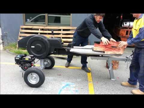 Kinetic Log Splitter 30-35 Ton lickety split Flywheel 2s cycle time