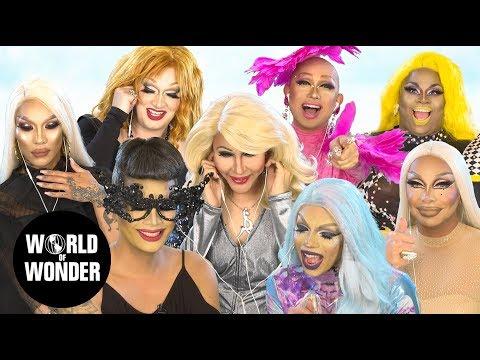 Drag Queens React Mamma Mia! Here We Go Again W/ Aja Chad Jaidynn Jinkx Kimora Ongina Raja & Raven