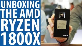 Ryzen 1800X Unboxing | AMD's new eight-core, 16-thread CPU
