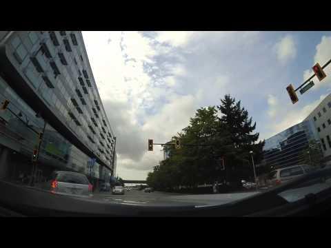 Driving to Aberdeen Center, Richmond, BC