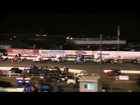 Dominic Scelzi 7/29/12 ASCS Santa Maria Speedway Main Event