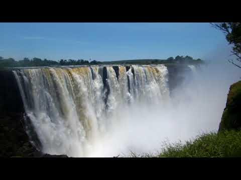 Beauties of Africa: Victoria Falls, Zimbabwe
