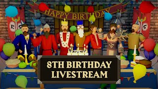 Old School RuneScape turns 8! Special Birthday Livestream - February 22nd