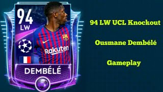 94 LW UCL Knockout Ousmane Dembélé Juego En Fifa Mobile 19 / Koko The Roblox Player