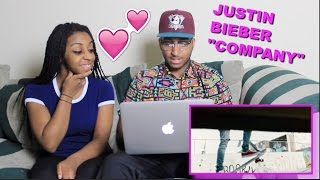 "Couple Reacts : Justin Bieber ""Company"" Reaction!!!"
