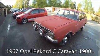 1967 Opel Rekord C Caravan 1900l Overview & Test Drive