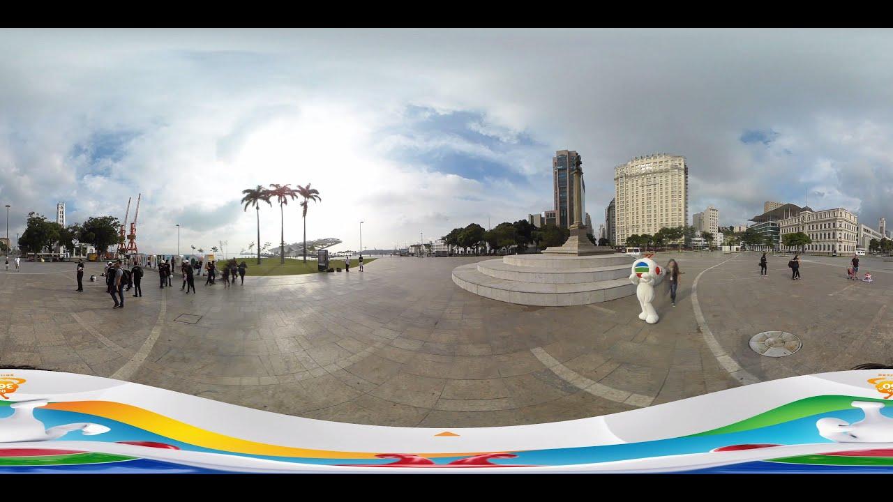 里約奧運2016 - Maua 碼頭 [360 video] (TVB) - YouTube