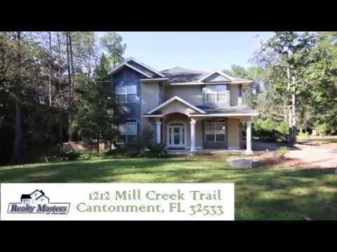 1212 Mill Creek Trail, Cantonment, FL Luxury Home for Lease