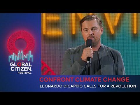 Leonardo DiCaprio Calls For Revolution on Climate Change | Global Citizen Festival NYC 2019