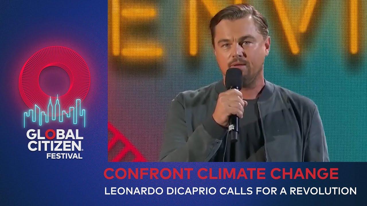 "Climate change: Leonardo DiCaprio calls Greta Thunberg ""a leader ..."