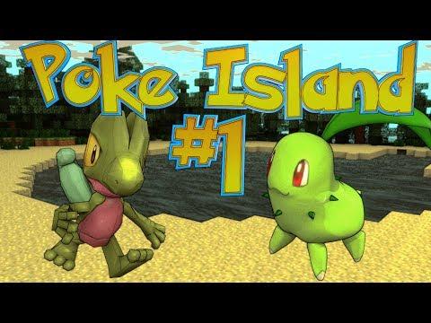 Minecraft | Pixelmon Survival Island EP 1