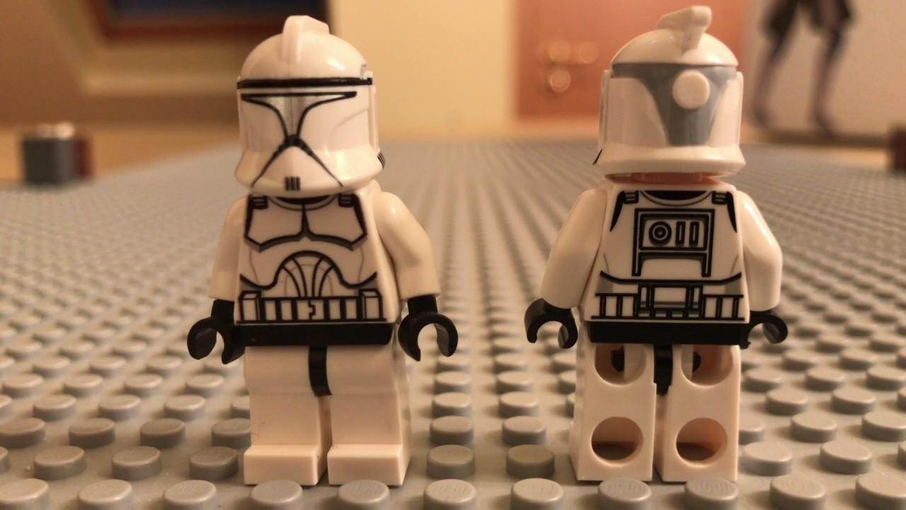 clone army customs phase 1 helmets review showcase lego custom