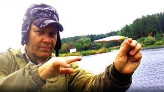 Рыбалка на спиннинг на щуку в последний день лета. Ушел от нуля.