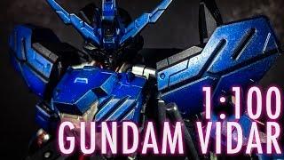 1/100 Full Mechanics Gundam Vidar (MSG: IRON BLOODED ORPHANS) | REVIEW