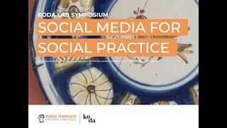Robin Cembalest - Social Media for Social Practice - 2021