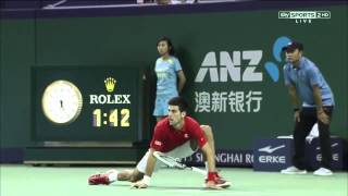 Novak Djokovic Vs Juan Martin Del Potro FINAL HIGHLIGHTS SHANGHAI MASTERS 2013 FULL HD   YouTube