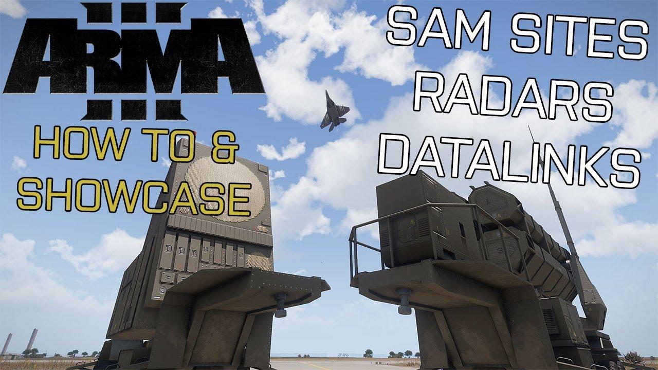 ArmA 3 Tutorial/Showcase: SAM Sites, Radar & Datalink (Encore Update)