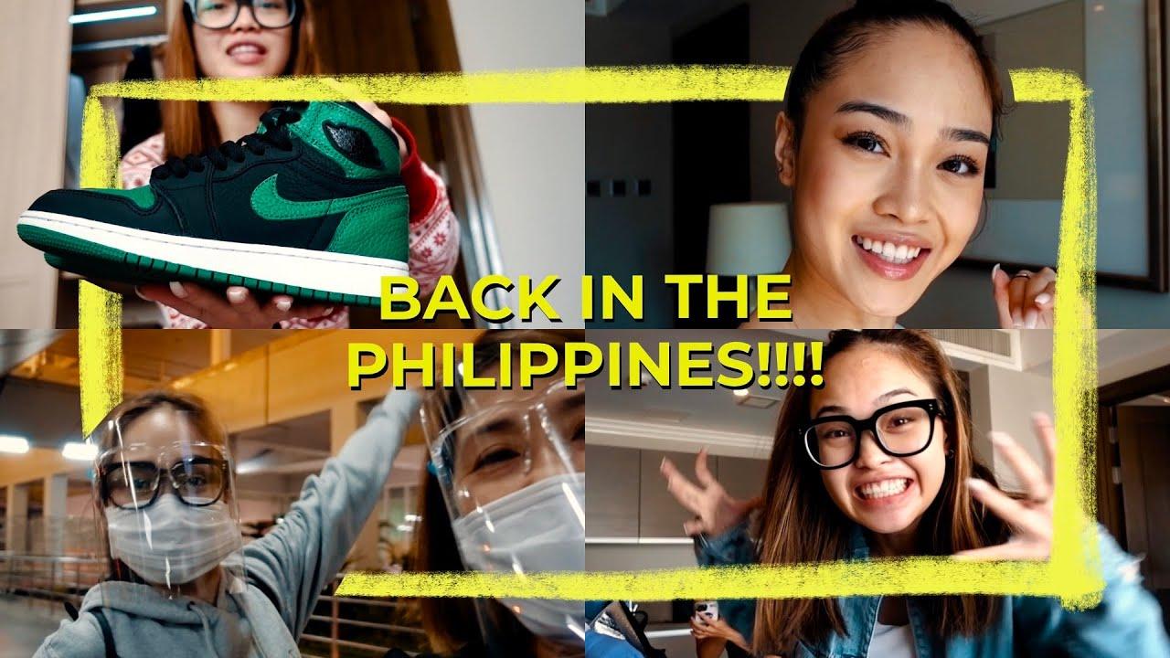 Going Back to Manila!!! // Andree Bonifacio