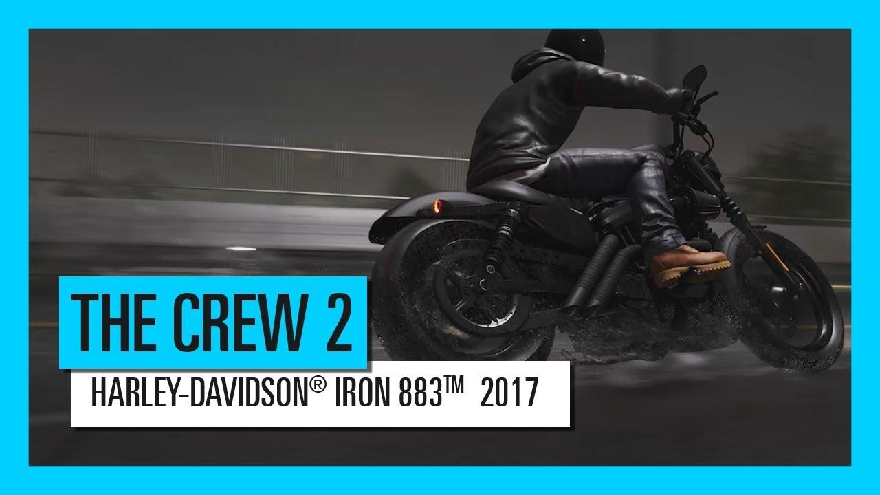 THE CREW 2 : HARLEY-DAVIDSON® IRON 883TM  2017 – Materiał z jazdy | Zwiastun | Ubisoft