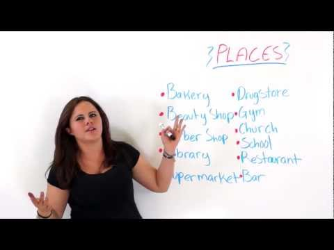 How To Describe Places In English