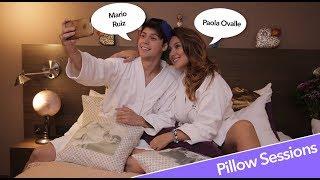 Mario Ruíz en Pillow Sessions con Pao Ovalle