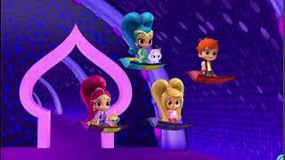 Мультфильм для детей про Shimmer and Shine #Гонки Зак и Лия