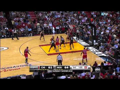 Derrick Rose Highlights vs. Miami Heat 3/6 720p HD