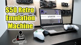 Turning a Used $50 Laptop into A Retro Emulation Machine