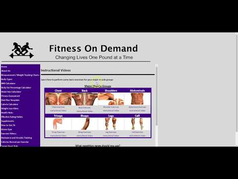 Digital Personal Trainer Fitness On Demand 6617
