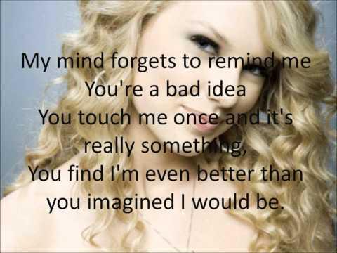 Taylor Swift- Sparks Fly Lyrics ( Speak Now)