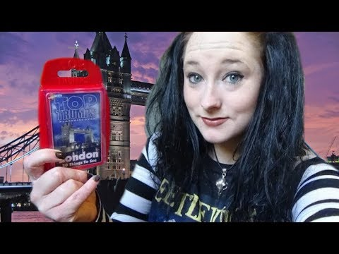 *ASMR* Show & Tell: London - 30 Things to See Top Trumps! | Amy McLean