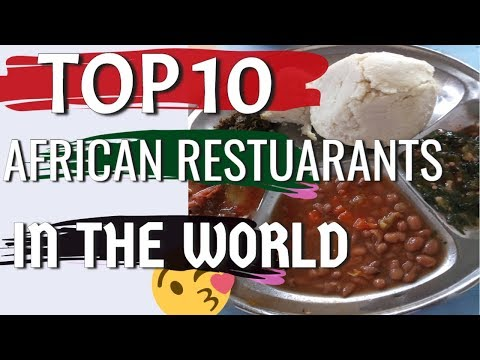 African Food Restaurants Near Me Top 10 List Youtube