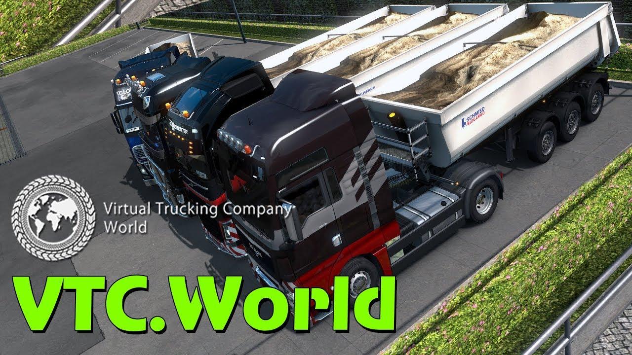 Что такое VTC World - TruckersMP, ETS 2, ATS