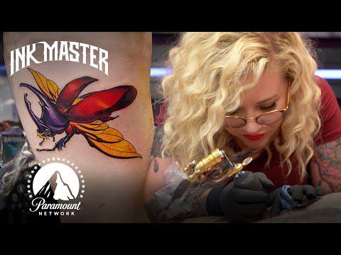 'Illustrative Insect' Elimination Tattoo Challenge Highlight 🐞 Turf War (Season 13)