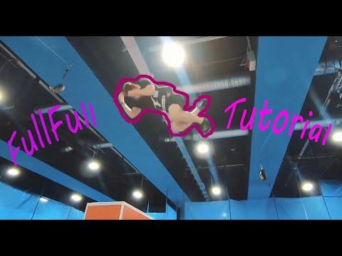 FullFull Tutorial - Noah Roten [double Backflip With 2 Twists]