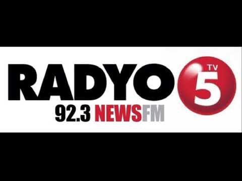 DWFM TV5 Radyo5 92.3 News FM Signing On (2017)