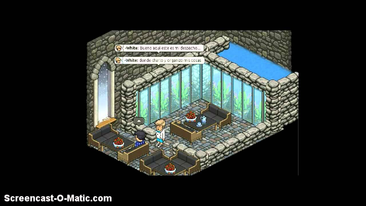 Salas fabulosas de xpixeles habbo youtube for Sala de estar 20m2