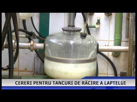 Cereri pentru tancuri de răcire a laptelui