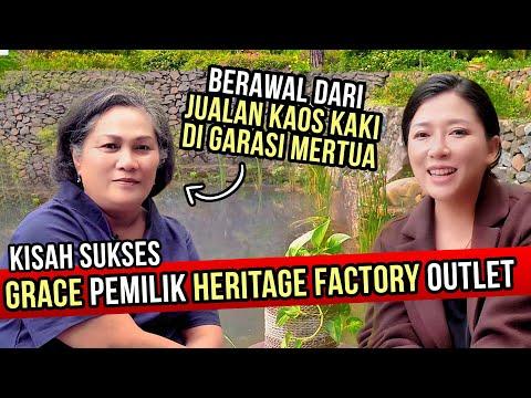Cerita Sukses Heritage Factory Outlet Bandung, Berawal dari GARASI!
