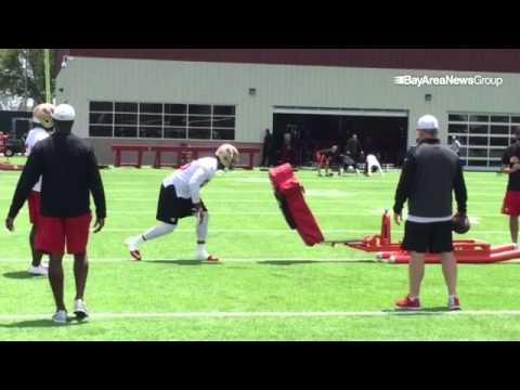 Video: Want to see NaVorro Bowman, Aldon Smith & #49ers LBs hit something? #SledWillHavetoDo
