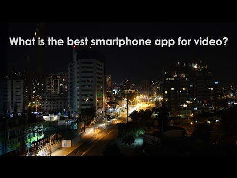 What is the best smartphone app for video?