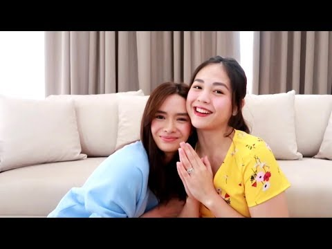 NAME GAME WITH JANELLA SALVADOR ♥️ | Erich Gonzales