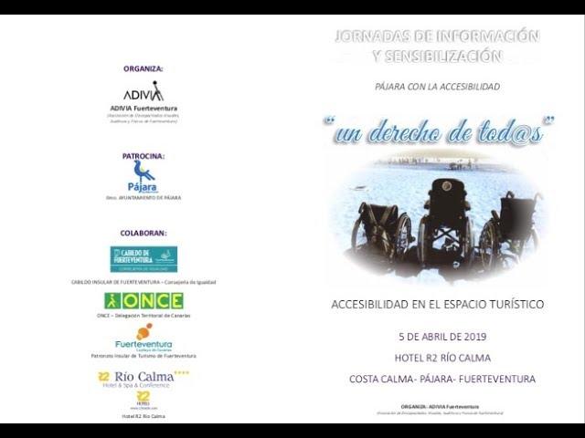 I Jornadas de Accesibilidad y Visibilidad: Primera ponencia