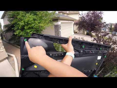 2016+ Honda Civic Interior Door Panel Removal