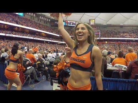 Syracuse cheerleaders bring high energy as Orange defeat Florida State