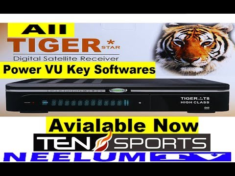 All Tiger Receivers Sony Network New Software Available Now