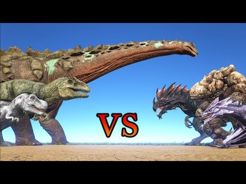 THE ISLAND vs ABERRATION & SCORCHED EARTH || ARK: Survival Evolved || Cantex